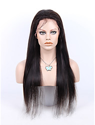 Brazilian Human Hair Black Wig Straight