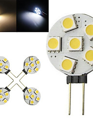 10 pcs Ding Yao G4 2.5W 6X SMD 5050 100-150LM 2800-3500/6000-6500K Warm White/Cool White Bi-pin Lights AC 220-240V