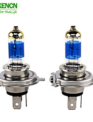 XENCN H4 P43t 5000K 12V 60/55W Teleeye Intense Brighter Version Light Car Headlights Bulbs UV Filter Halogen Lamp