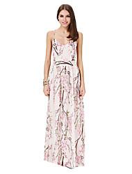 Women's Elegant Sexy Backless Full Length Slip Dress