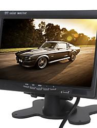 Monitor de vista trasera del coche del color TFT-LCD de 7 pulgadas para la cámara de DVD