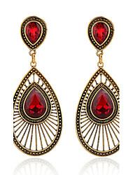Earring Drop Earrings Jewelry Women Alloy / Imitation Pearl / Rhinestone 2pcs White / Pink