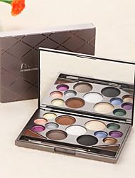15 Eyeshadow Palette Matte / Shimmer Eyeshadow palette Powder Normal