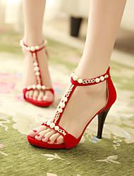 Women's Shoes Stiletto Heel Peep Toe Sandals Dress Shoes More Colors Available