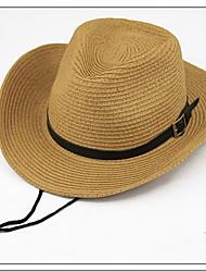 Unisex Sombrero de Paja Vintage/Casual - Verano - Mezcla de Lana