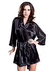 Mujer Poliéster Batas y Zapatillas/Pijama Camisones