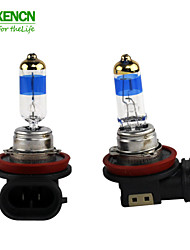 XENCN H9 12V 65W PGJ19-5 5000K Teleeye Intense Light Car Light High Beam Halogen Bulb UV Filter Auto lamp