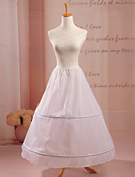 Slips A-Line Slip Floor-length/Tea-Length 1 Taffeta White