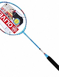 Men/Unisex/Women/Kids Badminton Rackets Low Windage/High Elasticity/Durable Pink 2 Pcs Carbon Fiber
