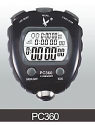fila pc360three cronometro elettronico 60 di memoria timer sport cronometro con funzione di frequenza polpa