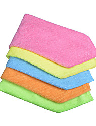 Sinland Household Multi-purpose Microfiber Cleaning Cloths Kitchen Cloth With Strips 12 Inchx12 Inch 5 Pack