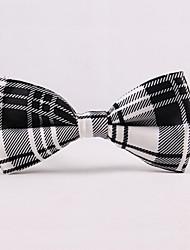 Gravatas Borboletas (Roxa/Vermelho/Branco , Poliéster) Estampado