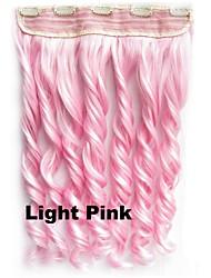 ombre hair extensions kleurrijke haar clip in hair extensions clip op haarstukjes synthetische hair extensions 60cm