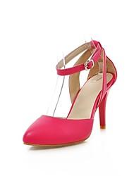 Chaussures Femme - Habillé - Noir / Vert / Rouge / Beige - Talon Aiguille - Talons / Bout Pointu - Talons - Similicuir