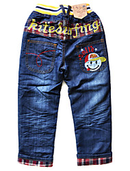Pantaloni/Jeans Maschile Inverno Cotone