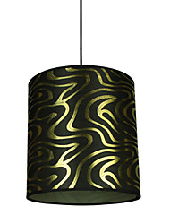 Fabric Print Pendant Light