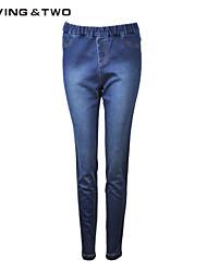 Women's Vintage/Casual/Work Micro-elastic Medium Jeans Pants (Denim/Cotton Blends) Luvingtwo