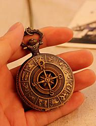 pocket mapa antigo do vintage roma antiga bússola padrão analógico de quartzo relógio relógios mens 78 centímetros cadeia steampunk