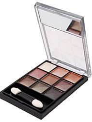 9 Color Earth Color System Eye Shadow