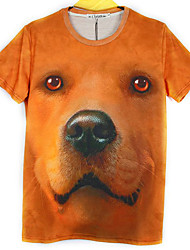 Men's Fashion 3D Printing Short Sleeve T-Shirts