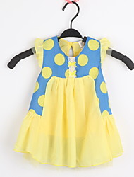 Kid's Dress,Chiffon / Cotton Casual / Print / Cute XYYZ