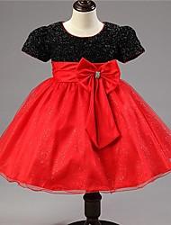 LULU  Kid's Sexy/Cute Dresses (Cotton Blend)