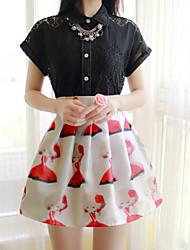 Women's  Fashion Sweet Little Girls Chiffon Skirt