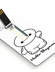 64GB Cartoon Design and Hello Design Card USB Flash Drive
