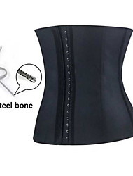4 Colors ! Steel Bone Latex waist cincher Corset Sexy Women Latex Waist trainer Corset & Bustiers sexy Waist Shaper .A