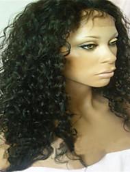 """brasileña sin cola peluca llena del cordón y la peluca del frente del cordón para las mujeres negras 8 """"-34"""""""