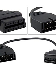 gm 12pin OBD1 al cavo del connettore obd2 a 16pin