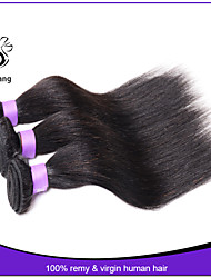 Brazilian Virgin Hair Straight 3PCS Cheap Human Hair Weave Bundles Brazilian Straight Virgin Hair