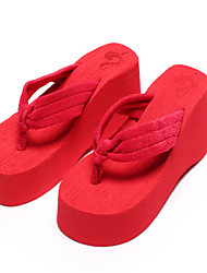 Soft towel cloth, exclusive concave-convex shoe uppers, wear-resistant and anti skidding large soles
