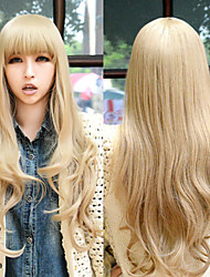 Cosplay Wigs Young Long Straight Synthetic Hair Wigs Costume Party Wigs