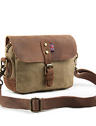 Retro Canvas Shoulder Bag Xiekua package bag casual bag