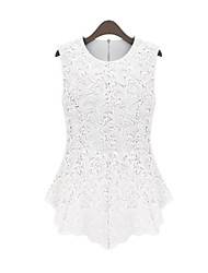 Women's Sexy Beach Casual Party Sleeveless Lace Vest Tank Top