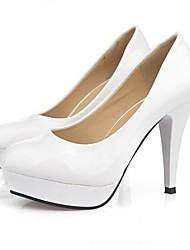 Women's Shoes Solid Color OL Stiletto Heel Platform Pumps