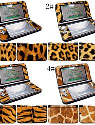 Skins décalque de protection de la peau de vinyle pour les peaux autocollant Nintendo 3DS XL / ll wrap de couverture