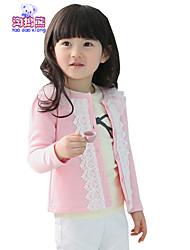 Waboats Winter Kids Girls Lace Round Neck Princess Jacket
