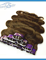 "Wholesale Cheap Peruvian Human Hair Body Wave Style 1Kg Color Brown Beauty Hair 14""~22"" Grade5A Cheap Hair Extensions"