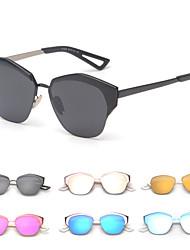 mujeres 's Espejo Browline Gafas de Sol