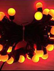6w 5 metro di diametro esterno lampadina 50pcs ha condotto le luci della stringa di modellazione piccole luci palla, colore rosso