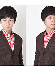 Japan and South Korea Handsome Students Wig  Short Hair Male Hair Non-Mainstream Men Wig