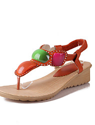 Women's Shoes  Wedge Heel Wedges/Toe Ring/Open Toe Sandals Outdoor/Office & Career/Dress/Casual Multi-color