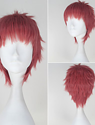 Seraph of the End Shihou Kimizuki Synthetic Short Straight Pink Color Anime Cosplay Wig
