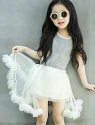 Kid's Casual/Cute Dresses (Organza)
