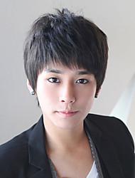 Япония и Южная Корея моды красивый мальчик короткий восстановление волос лицо основная короткие прямые волосы парики