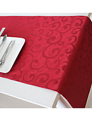 Christmas Red Table Runner Table Flag Table Cloth Manufactured Article