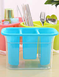 Candy Color Chopsticks Tube Tableware Receive Waterlogging Caused By Excessive Rainfall(Random Color)
