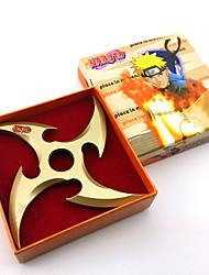 Waffen Inspiriert von Naruto Cosplay Anime Cosplay Accessoires Schwert / Waffen Schwarz / Gold Legierung Mann